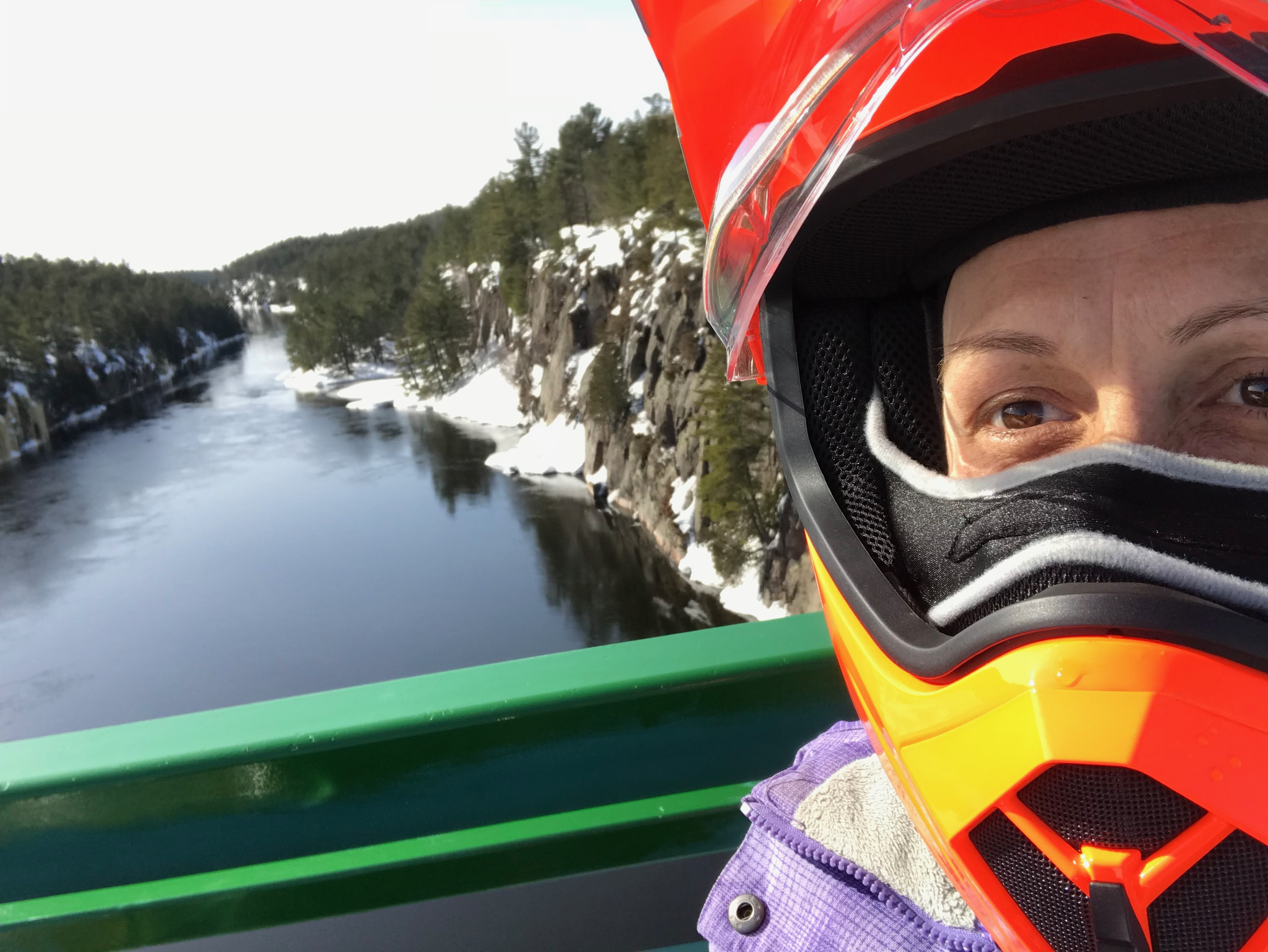 French River Snowmobiling