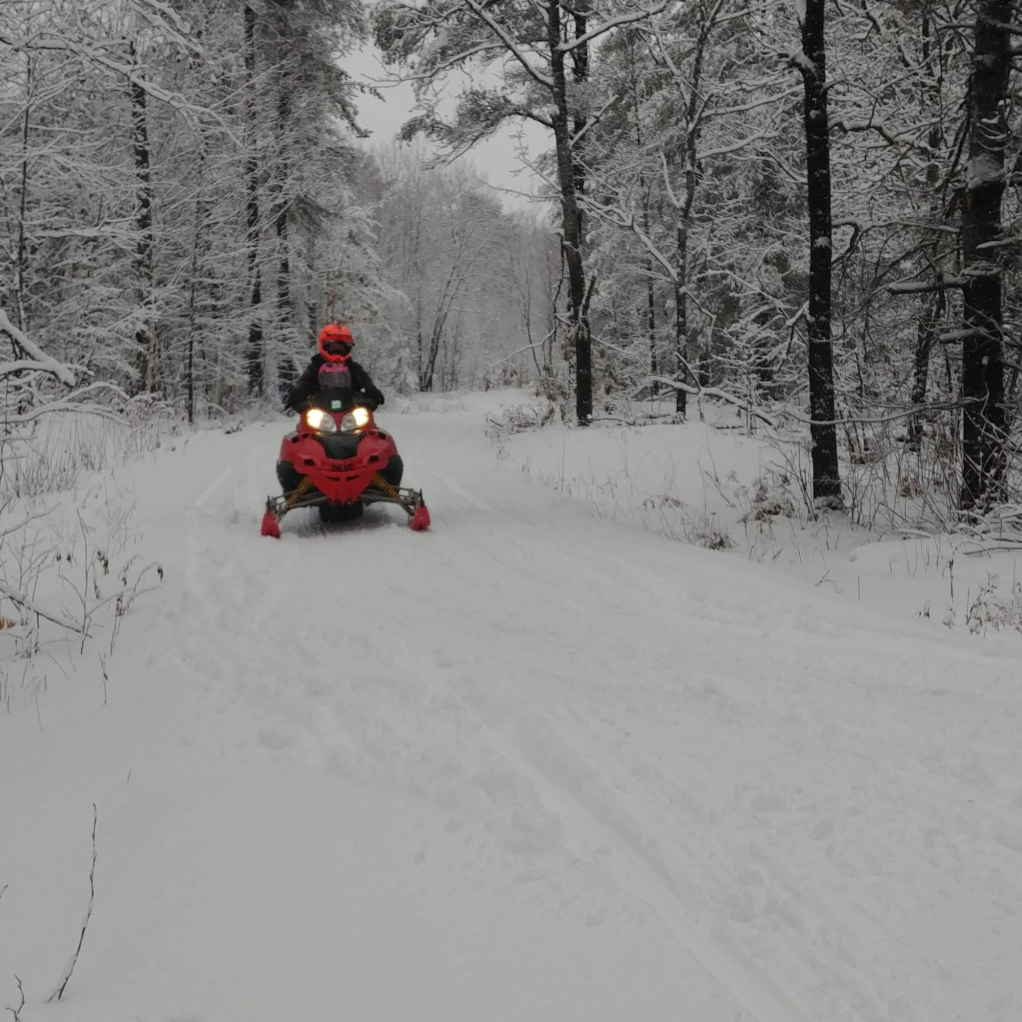 French River Snowmobiling trail