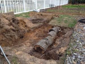 Hugelkultur Permaculture Beds