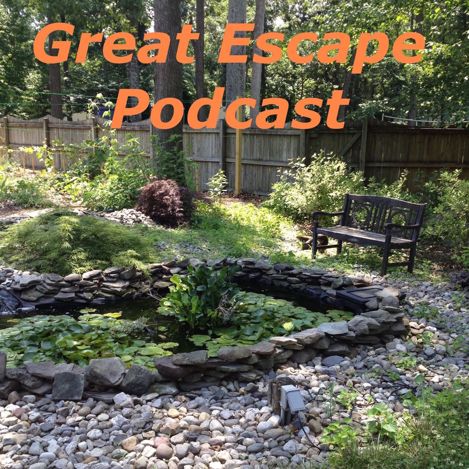 Epi041 Great Escape Farms Podcast Perennial Garden at Great Escape Farms, Suburban Homesteading in Maryland, DIY Rainwater Collection System, and Strawberry Tree