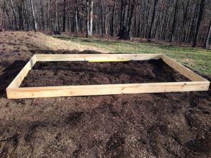 Building A Plant Propagation Bed Part 1 - Base