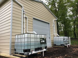 Sustainable Homesteading in West Virginia - Rain Water Catchment