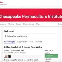Chesapeake Permaculture Institute Meetup