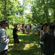 Mid-Atlantic Permaculture Convergence Review - Plant Walk