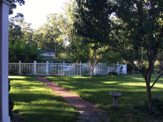 Garden Walk Through Pasadena Homestead
