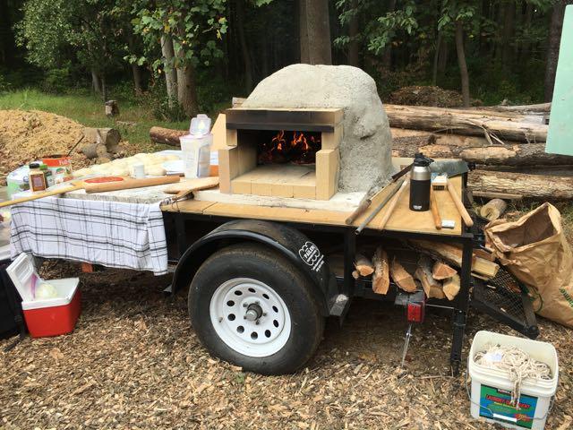 Homemade Pizza Oven