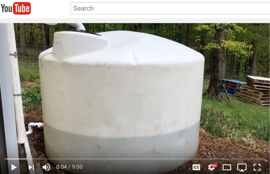Large Rainwater Harvesting System Upgrade part 2 - video