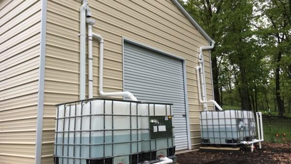 Large Rainwater Harvesting System Upgrade part 4
