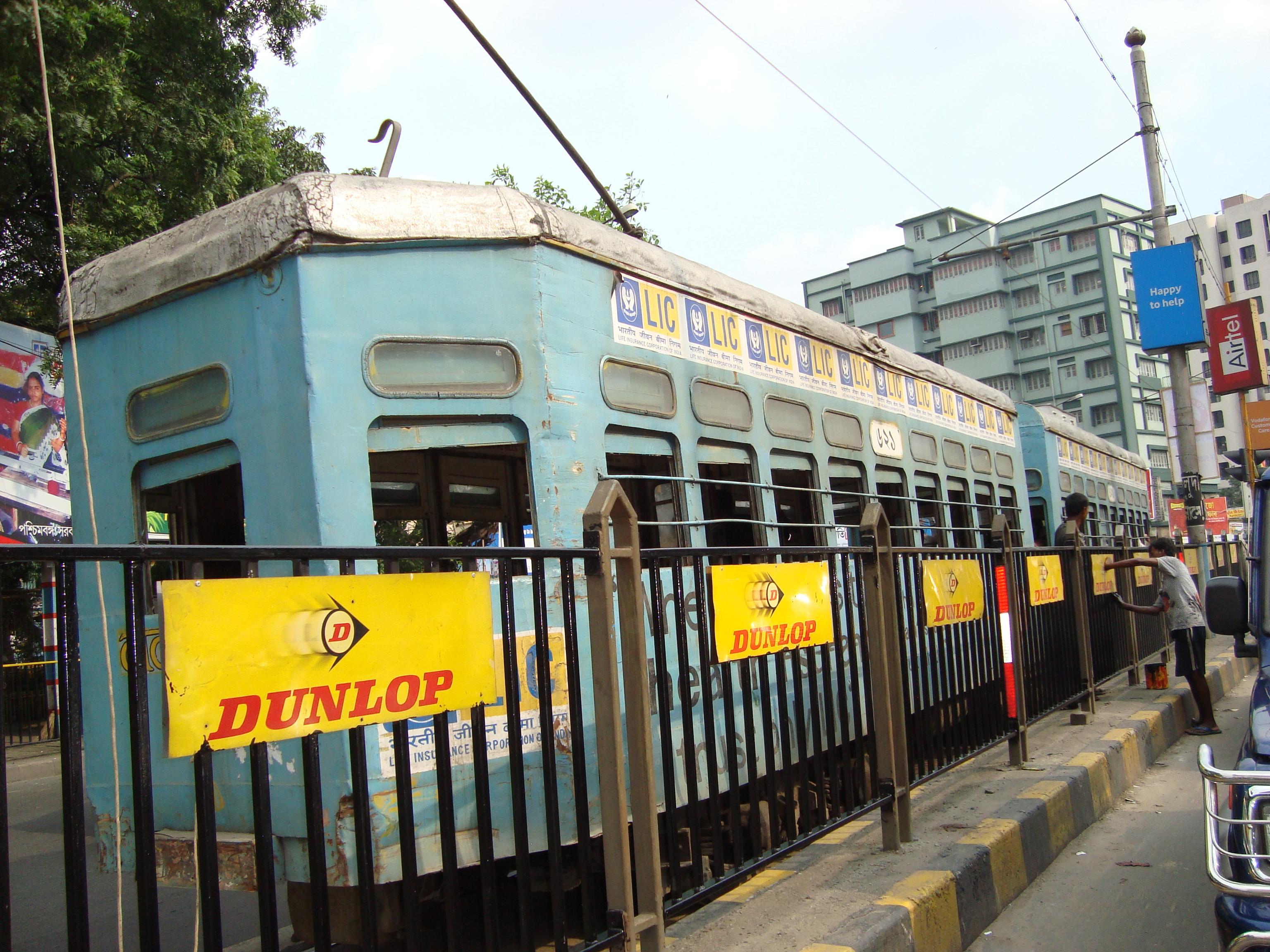 Kolkata's age old tram service