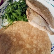 Fish Tacos - pre-assembly