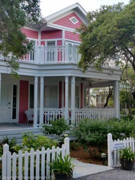 Seaside Pink House