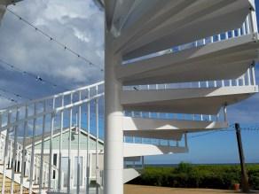 Seaside staircase