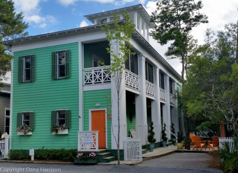 Seaside Turquoise House