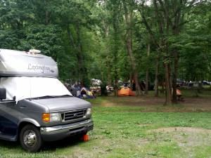 Hot Springs, NC - RV park