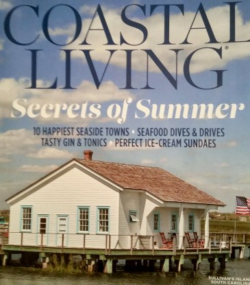 Coastal Living Magazine: Jul/Aug2018