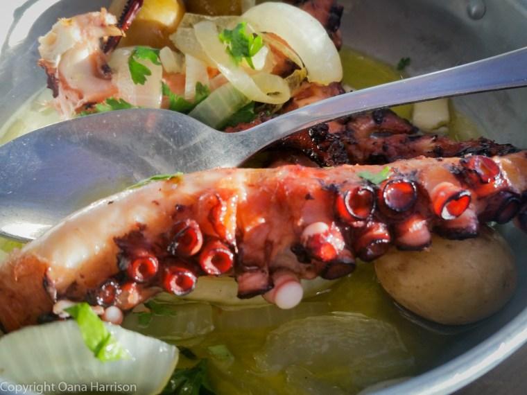 Marisco na Praca Cascais grilled octopus
