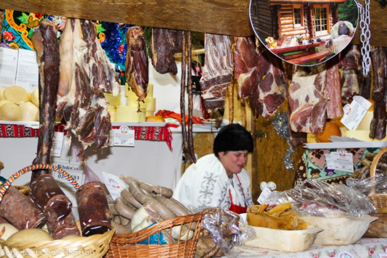 Brasov Romania Christmas Market Downtown