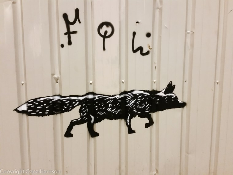 Fox graffiti - clever advertising