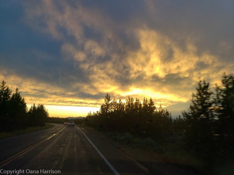 Sunset-Yellowstone