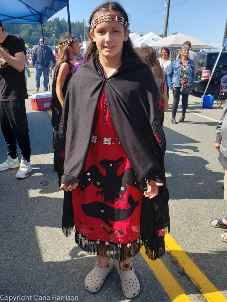 Makah-Days-traditional-dress-girl