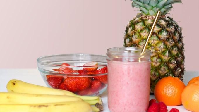 banana-strawberry-smoothie