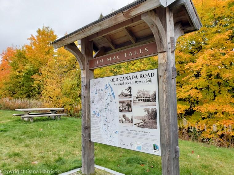 Old Canada Road fall colors Jim Mac Falls