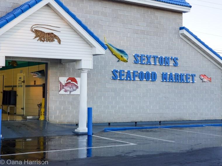 Miramar Beach Destin Florida Sexton's Seafood Market