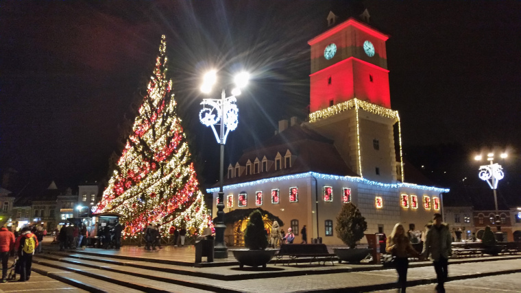 Christmas in Brasov, Romania
