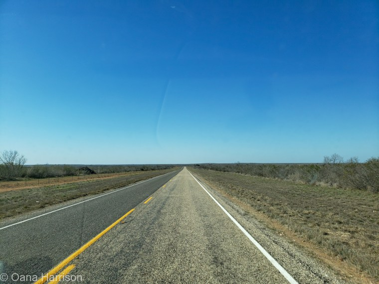 Del Rio Texas road