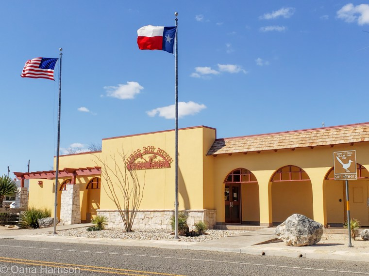 Langtry Texas Judge Roy Bean Museum