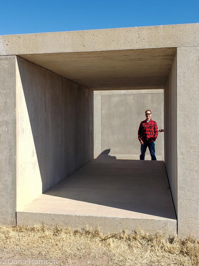 Marfa Texas Donald Judd art