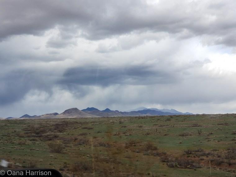 Storm clouds over Arizona