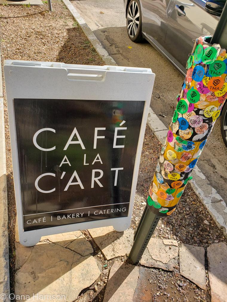 Tucson Arizona, Old Town, Cafe a la c'art
