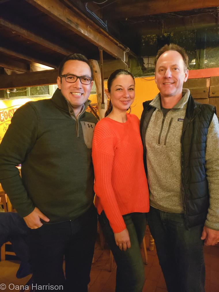 Valdir, Oana, and David, La Cocina Cantina Tucson AZ
