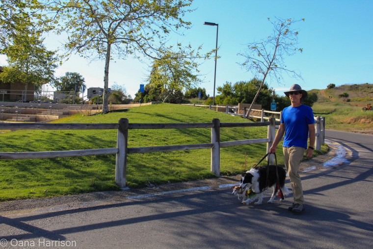San Diego, California, Sweetwater County Park, David and dogs