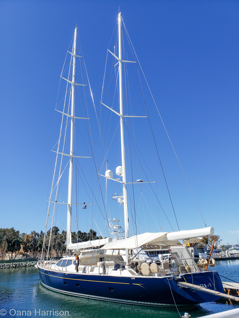 San Diego, California boat