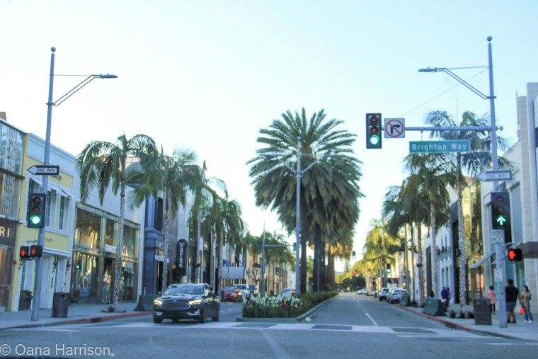 Beverly Hills and Hollywood, California; Rodeo Drive