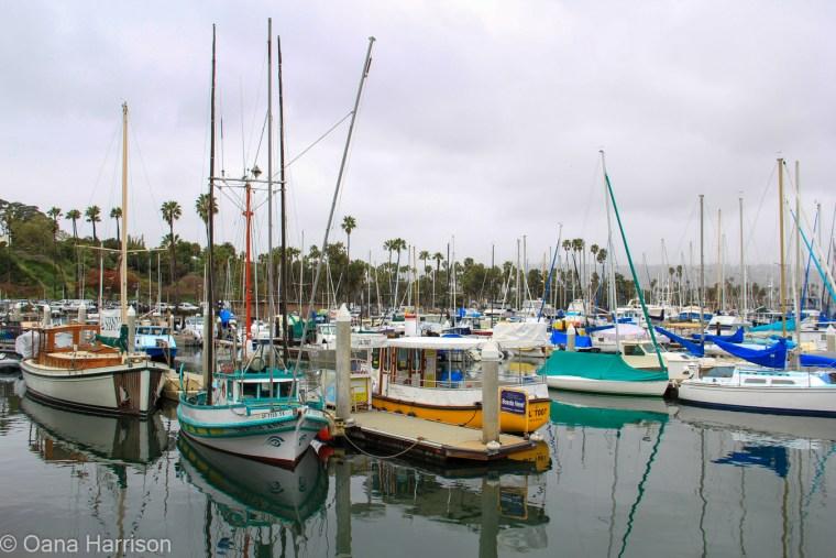 Santa Barbara, California, boats
