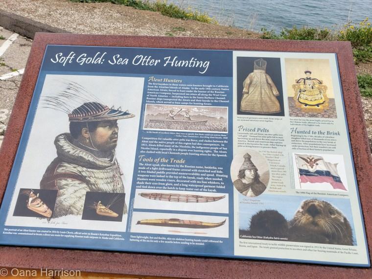 Santa Barbara, history, info panel