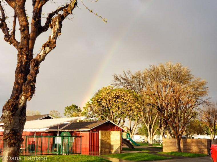 Valencia Travel Village; RV park; rainbow