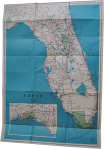 WPA map of Florida