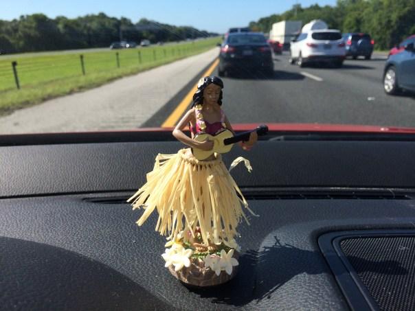 Hula Florida girl