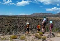 Hiking to Alamo Canyon