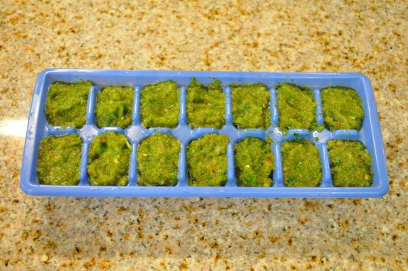 Sofrito Ice Cubes
