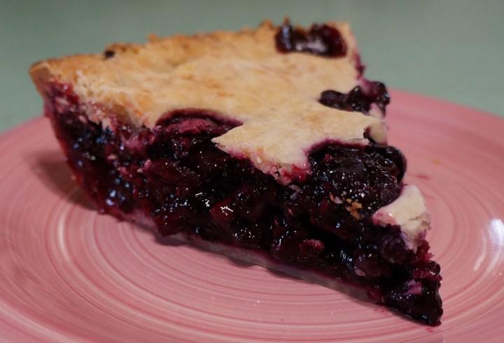 Mixed Berries Pie.