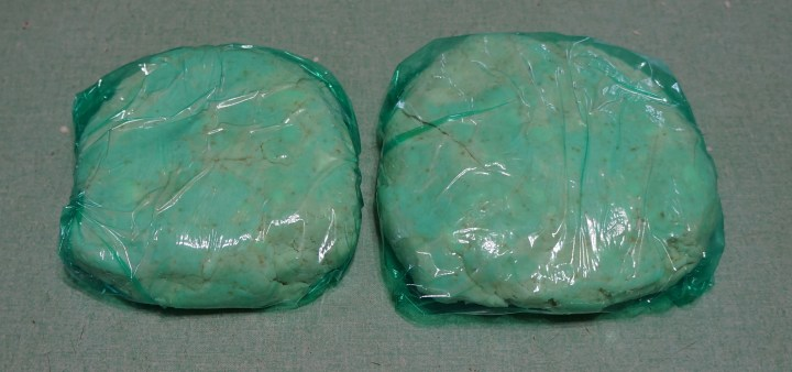 Flatten each half into a thick disk - wrap in plastic wrap - refrigerate for at least 30 minutes.