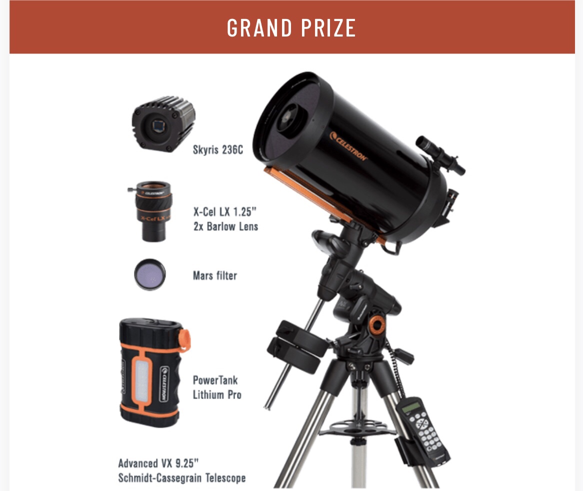 Win a telescope