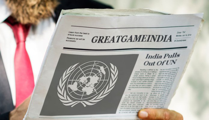 When India almost Broke the United Nations