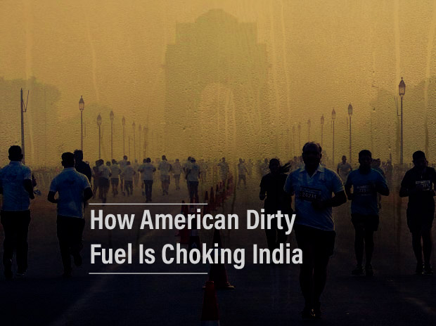 How American fuel is choking India