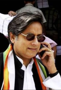 Shashi Tharoor, member of Parliament as well as CTD Advisors founded by British intelligence